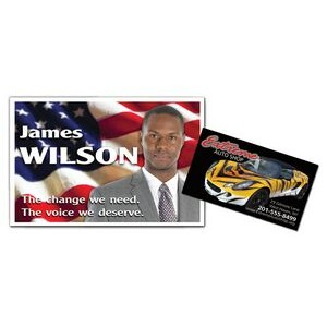 Full Color Business Card (printed one side)