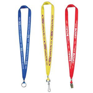 USA Made-Union Printed Lanyard (5/8