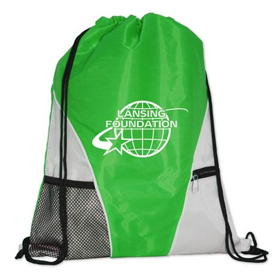 Deluxe Drawstring Back Pack