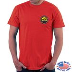 Custom U.S.A. Made Full Color Digitally Printed T-Shirt (5