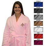 Custom Ultra Plush Fleece Robe