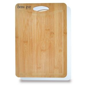 Best of Both Worlds Bamboo Plastic Cutting Board