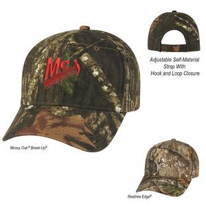 Realtree® And Mossy Oak® Hunter's Retreat Camouflage Cap