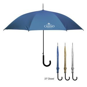 "46"" Arc Matte Metallic Umbrella"