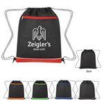 Custom Non-Woven Bandura Drawstring Bag