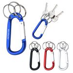 Custom 8mm Carabiner With Triple Split Ring