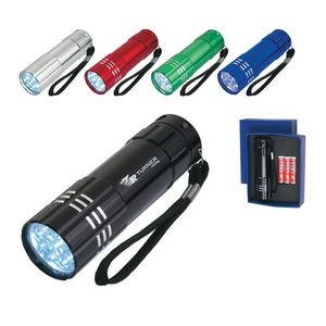 Aluminum LED Flashlight