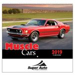 Custom 2018 Muscle Cars Wall Calendar - Spiral