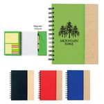 Custom Spiral Notebook With Sticky Notes And Flags