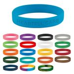 Custom Single Color Silicone Bracelet