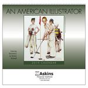 Custom 2018 An American Illustrator Wall Calendar - Spiral