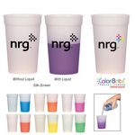 Custom 16 Oz. Color Changing Stadium Cup