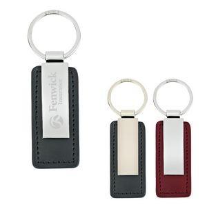 Leatherette Key Tag