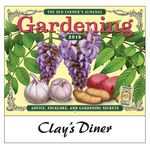 Custom 2018 The Old Farmer's Almanac Gardening Wall Calendar - Stapled