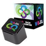 Custom Slanted Cube Wireless Speaker With Custom Box