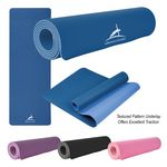 Custom Two-Tone Double Layer Yoga Mat