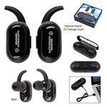 Custom Sonic Capsule Stereo Wireless Earbuds