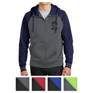 Sport-Tek® Sport-Wick® Varsity Fleece Full-Zip Hooded Jacket