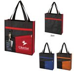 Custom Non-Woven Fashionable Tote Bag