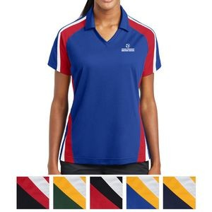 Sport-Tek® Ladies' Tricolor Micropique Sport-Wick®Polo