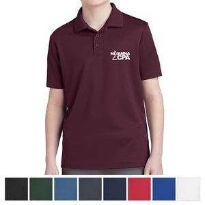 Sport-Tek® Youth PosiCharge® RacerMesh™ Polo