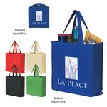 Custom Non-Woven Foldable Shopper Tote Bag