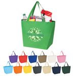 Custom Non Woven Budget Shopper Tote Bag