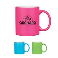 554536964-816 - 11 Oz . Neon Mug With C-Handle - thumbnail