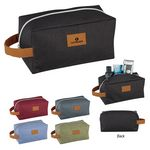 Custom Heathered Toiletry Bag