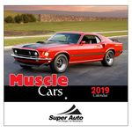 Custom 2018 Muscle Cars Wall Calendar - Stapled