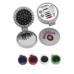 Custom 3-in-1 Sewing Kit w/ Brush & Mirror