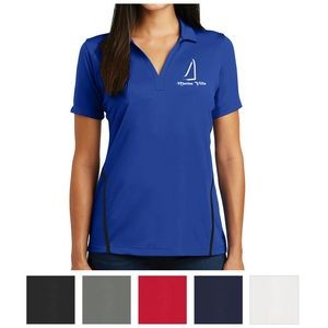 Sport-Tek® Ladies' Contrast PosiCharge® Tough Polo™
