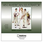 Custom 2018 An American Illustrator Wall Calendar - Stapled