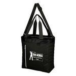 Custom Quilted Slim Line Kooler Tote Bag