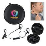Custom Wireless Earbuds In Travel Case