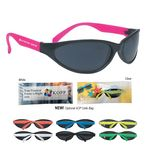 Custom Wave Rubberized Sunglasses