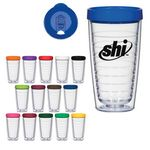 Custom 16 Oz. Hydro Double Wall Tumbler With Lid