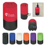 Custom UL Listed USB A/C Adapter Power Bank