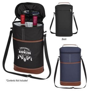 Double Wine Cooler Bag