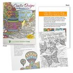 Custom Creative Designs For Relaxation & Fun Adult Coloring Book