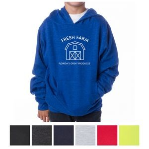 Independent Trading Company Youth Midweight Pullover Hooded Sweatshirt