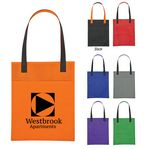 Custom Non-Woven Turnabout Brochure Tote Bag