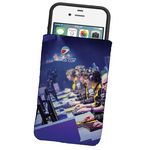 Custom Dye Sublimated Microfiber Phone Wallet Pouch or Sleeve