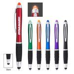 Custom Sangria Stylus Pen With LED Light