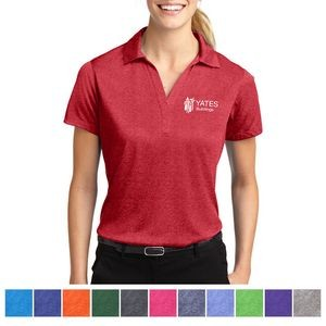 Sport-Tek® Ladies' Heather Contender™ Polo