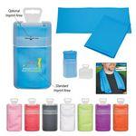 Custom Cooling Towel In Plastic Case