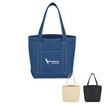 Custom Small Cotton Canvas Yacht Tote Bag