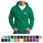 Custom Port & Company Core Fleece Full-Zip Hooded Sweatshirt