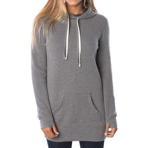 Independent Trading Company Juniors' Midweight Special Blend Hooded Pullover Dress