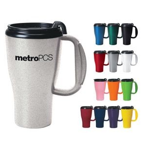 16 Oz. Omega Mug With Slider Lid